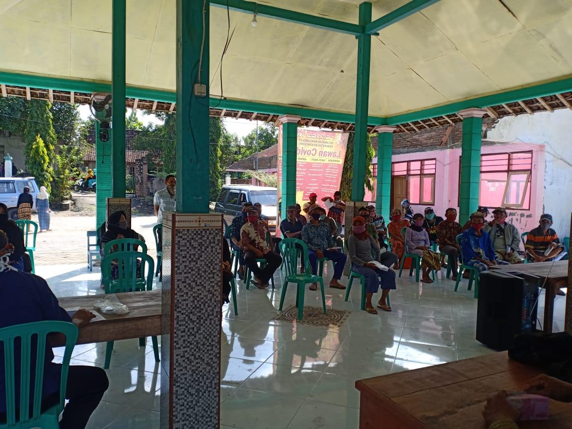 100 KK Warga di Desa Ngelo Terima BLT Dana Desa Tahap Kedua